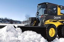 Simplify Snow Removal With the New John Deere Snow Utility V-Blade Attachments