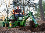 John Deere Introduces Improved Backhoe and Loader for Compact Utility Tractors