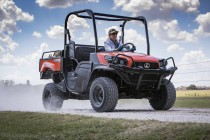 Kubota Introduces Gas-Powered RTV-XG850 Sidekick UTV