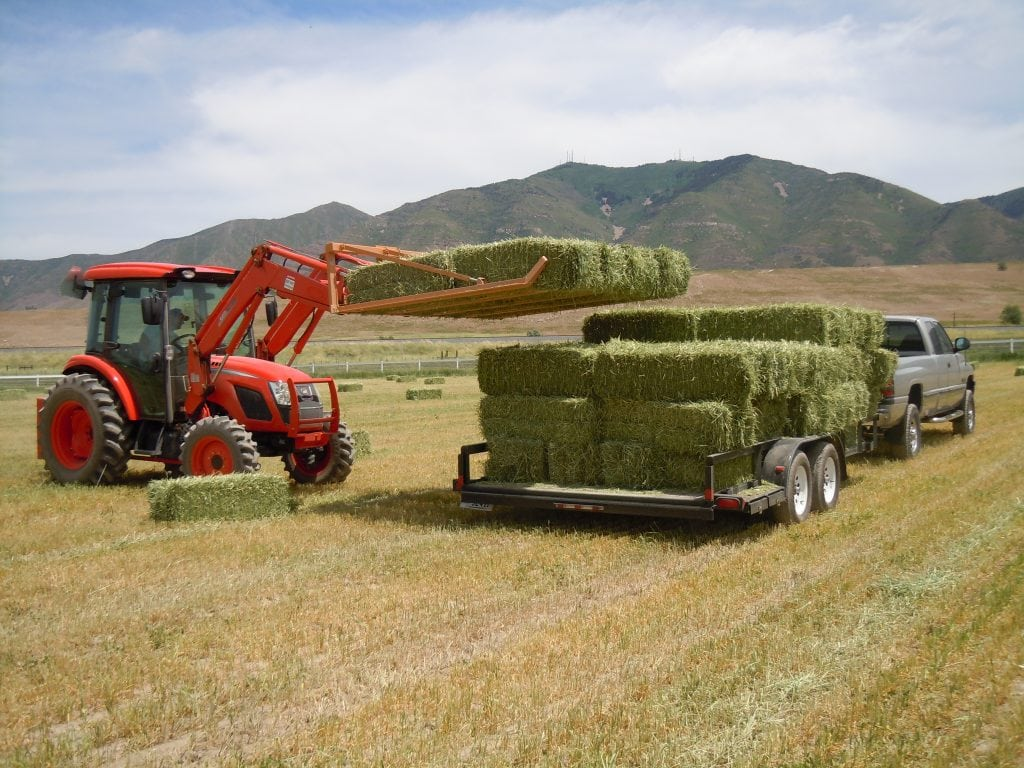 Haying With a Compact Tractor - TractorByNet
