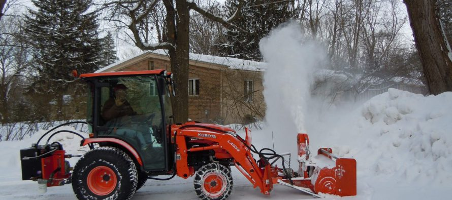 Snowblowers In Action