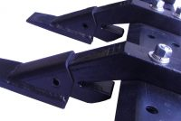 Clamp-On Tooth Bar